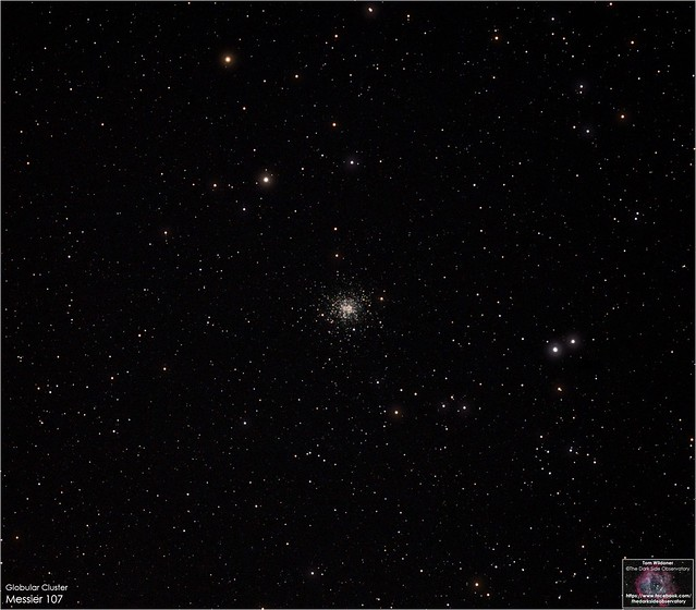 Messier 107 in Ophiuchus