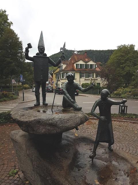 Narrenbrunnen un Haslach