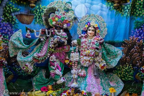 ISKCON Vrindavan Deity Darshan 10 Oct 2019
