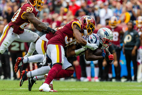 NFL Football: Washington Redskins vs New England Patriots