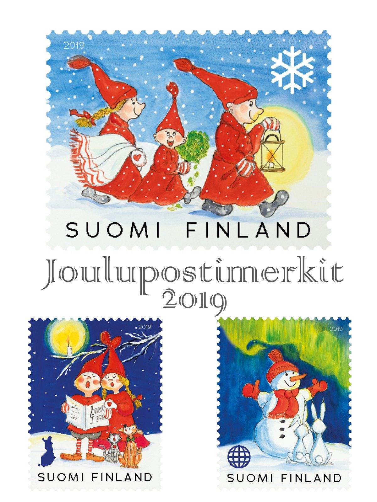 joulupostimerkit-2019