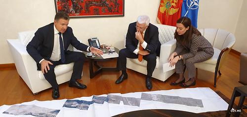 Duško Marković - predstavnici kompanije Lajtner