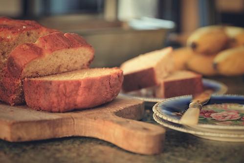 282. Banana bread.