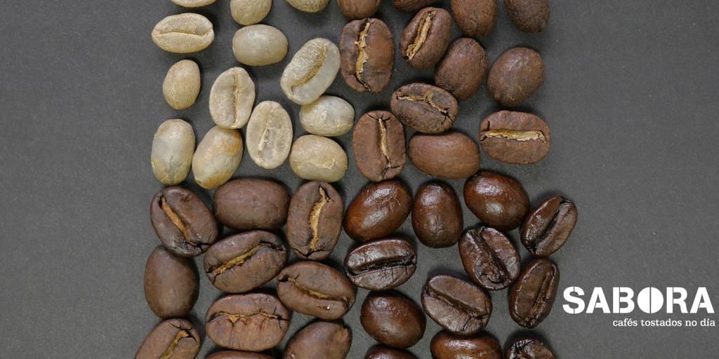 Tipos de tostado de granos de café