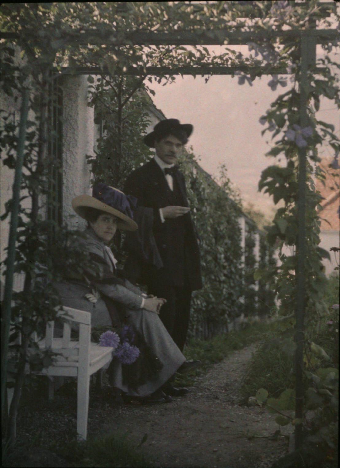 1910. Альфред Стиглиц со своей первой женой Эммилией Стиглиц