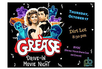 EAGLE MOVIE NIGHTS: GREASE