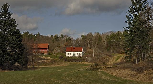 an old Norwegen farm