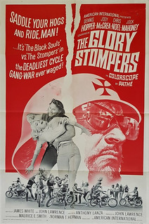 The Glory Stompers - USA One sheet - 1967 / 418 - AIP - Dennis Hopper
