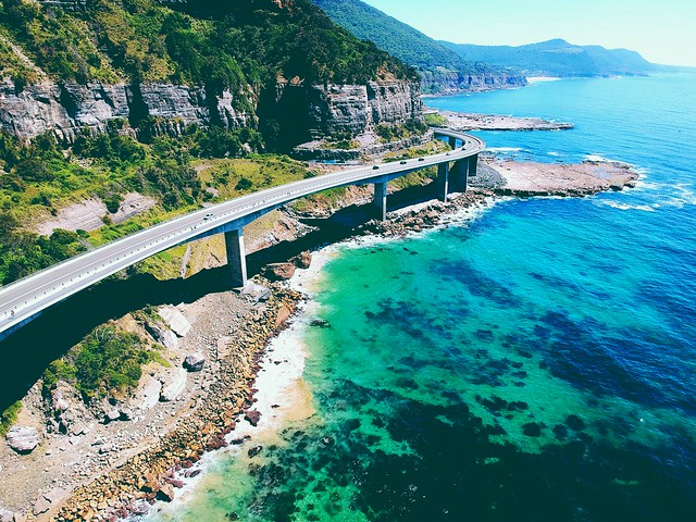 the Grand Pacific Drive ◈ DJI