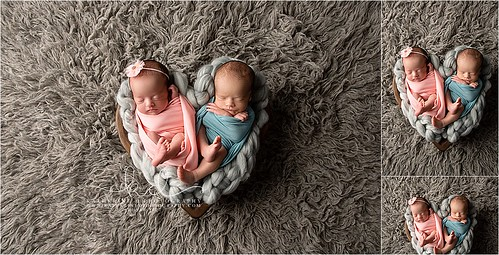 Newborn Twins in Fayetteville NC | by [Katherine]