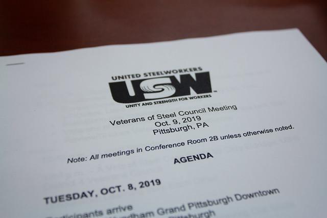 2019 Veterans of Steel Council Meeting