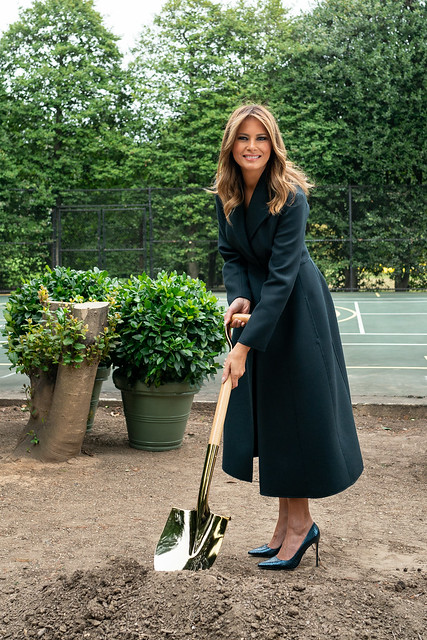 Groundbreaking Ceremony for the White House Tennis Pavilion