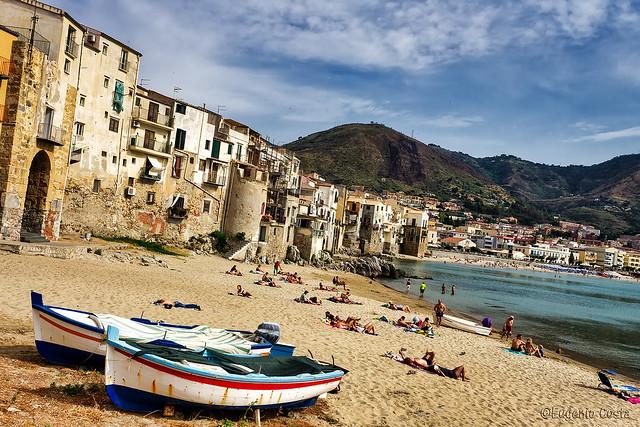 Spiaggia di Cefalù (5) - Cefalù beach (5)