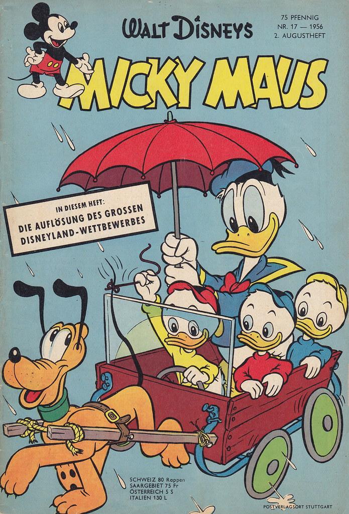 micky maus 171956  micky maus  heftreihe copyright
