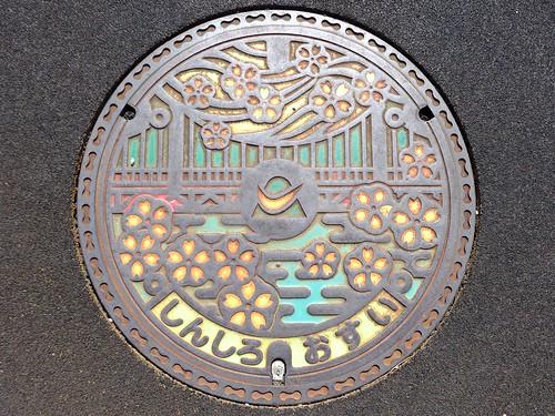 Shinshiro Aichi, manhole cover (愛知県新城市のマンホール)