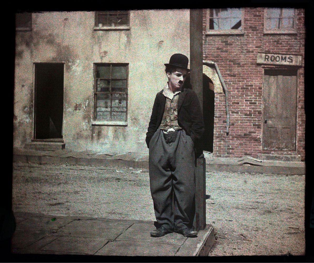 1918. Чарли Чаплин