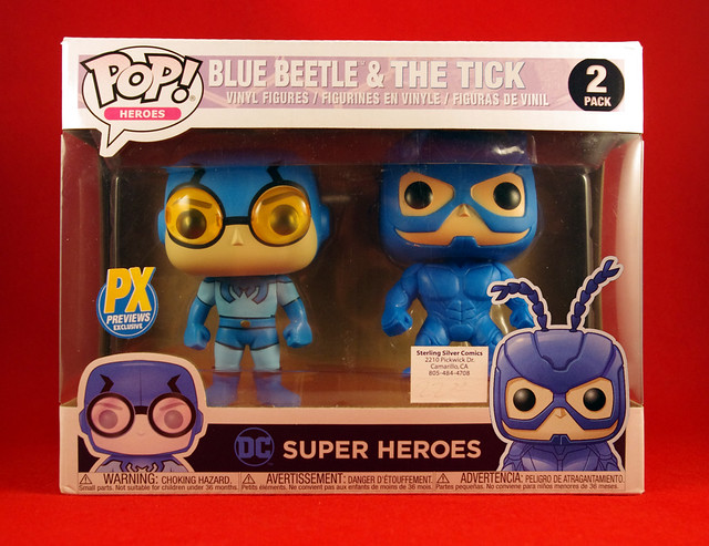 FUNKO POP! THE TICK AND BLUE BEETLE FUNKO DOLLS WISH LIST FOR 2020