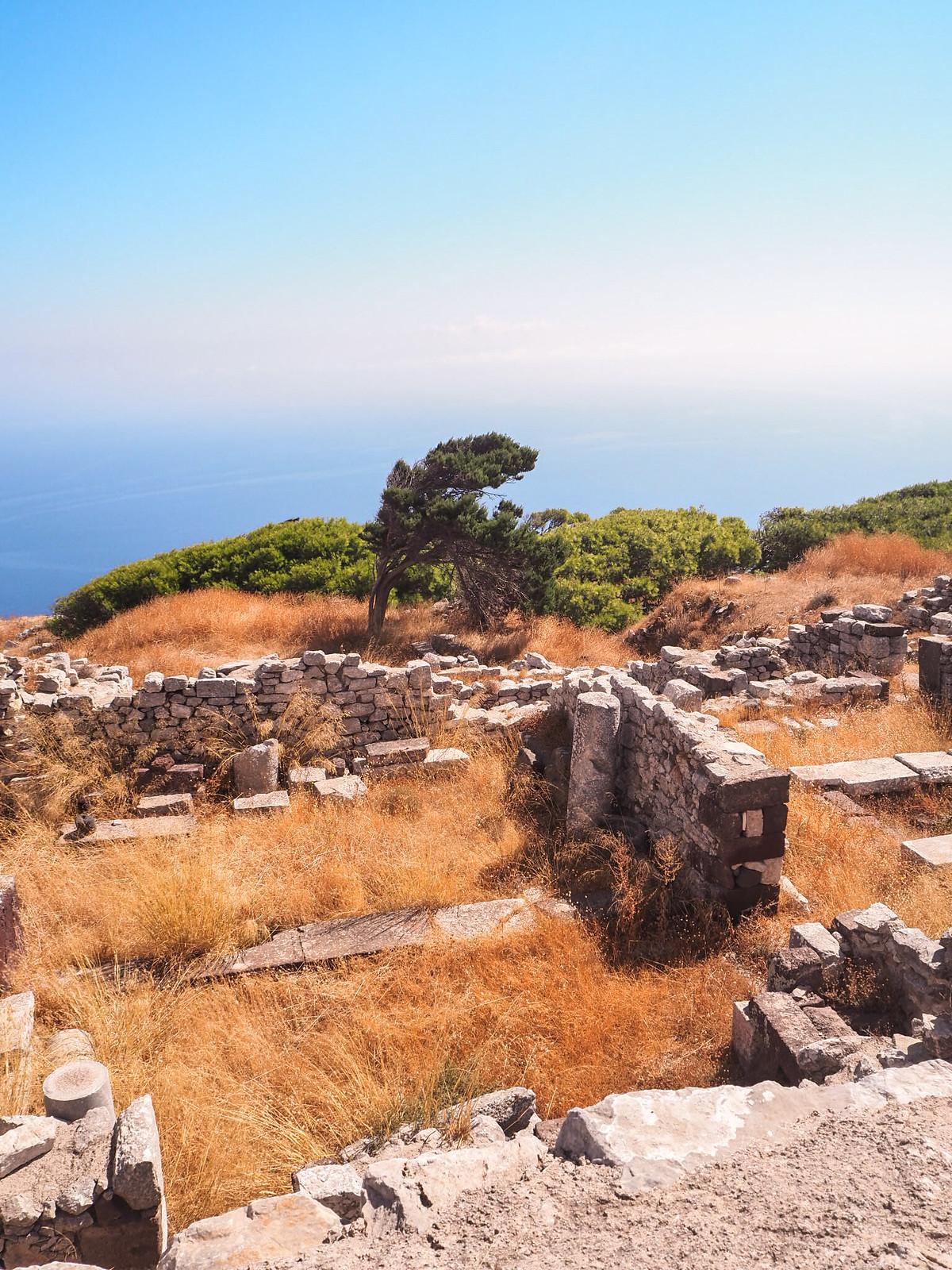 Santorini tekemistä