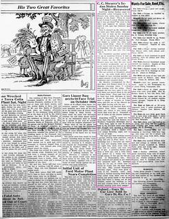 2019-10-10. Shearer Sedan, News, 9-13-1923