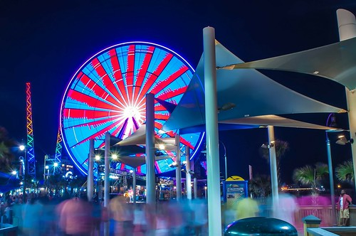 Broadway on the Beach at Myrtle Beach, South Carolina. From  Top 5 Most Overlooked Travel Destinations In The United States