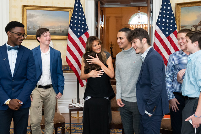 Mrs. Trump Meets with Truth Initiative