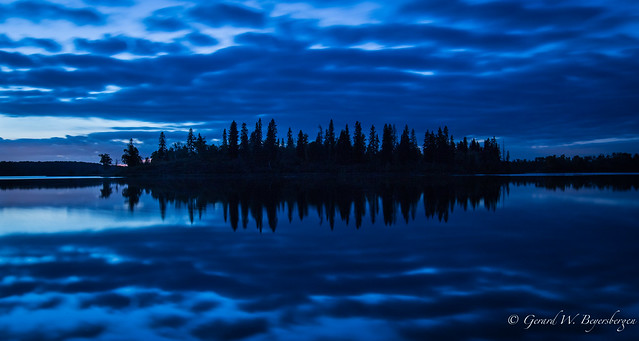 The Blue Hour - Islet Lake