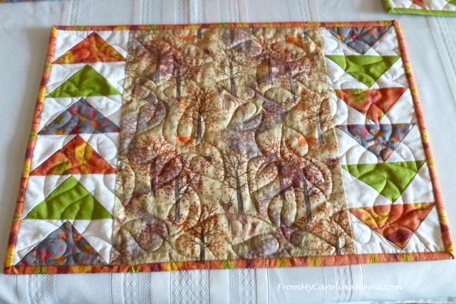 Autumn Jubilee Placemats at FromMyCarolinaHome.com