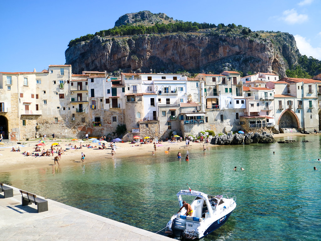 La Roca en Cefalu en Sicilia