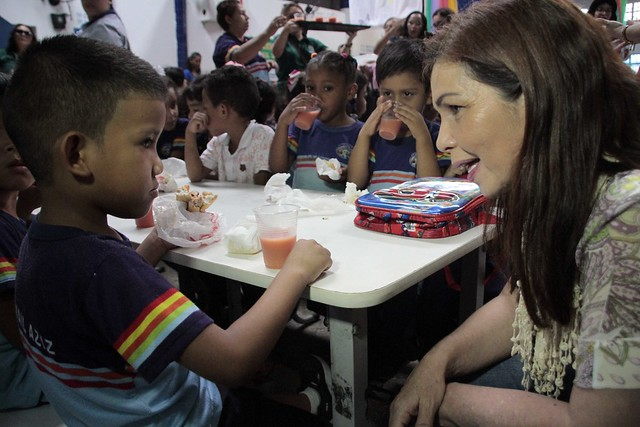 Crianças da zona rural recebem programação especial