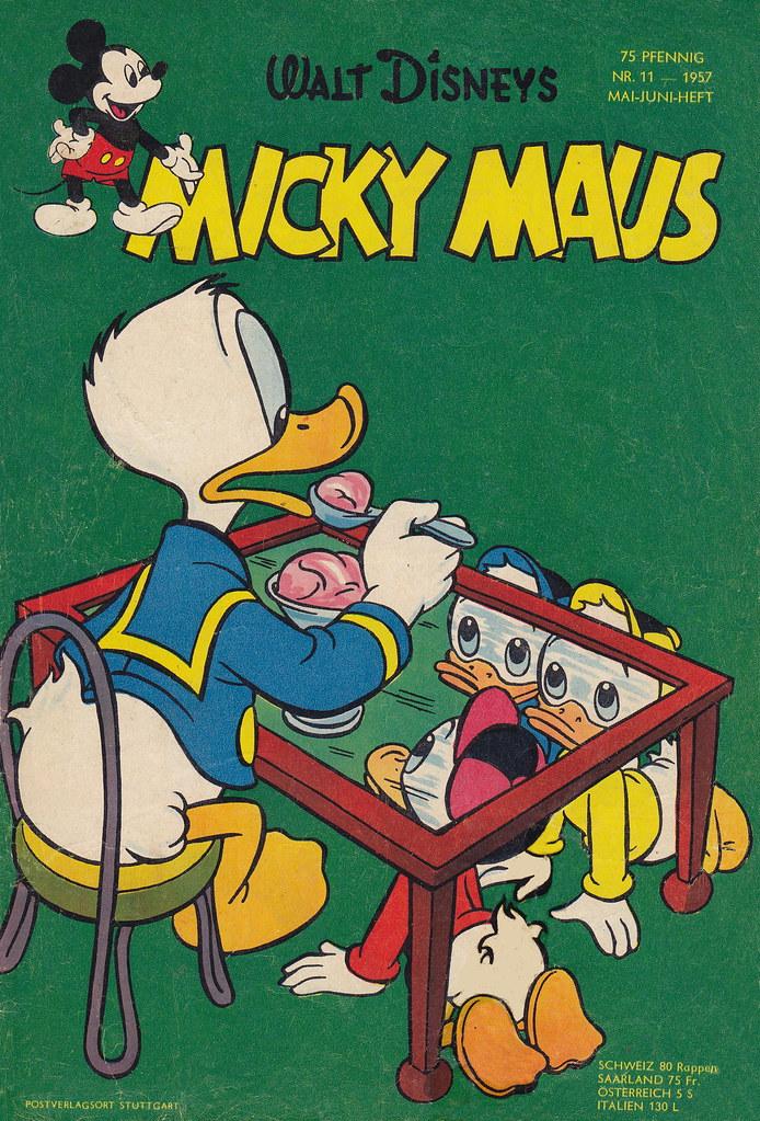micky maus 111957  micky maus  heftreihe copyright