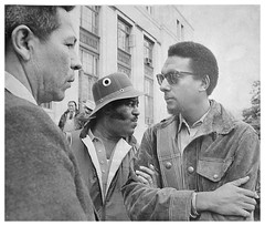 Carmichael talks with BIA Commissioner Bruce: 1972