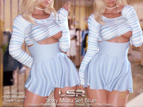 Sexy Malu Set Blue