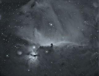 NGC 2024 IC 434 WO GT 71 Flat 6A 300 sg gain 139 -20 ZWO ASI 1600 MM Pro HA