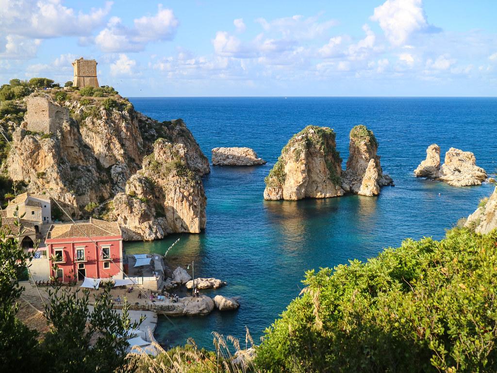 La Tonnara di Scopello en Sicilia