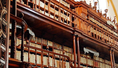 The oldest library in Puebla, Mexico