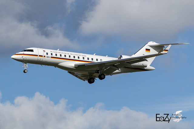 14+05 German Air Force (Luftwaffe) Bombardier Global 6000