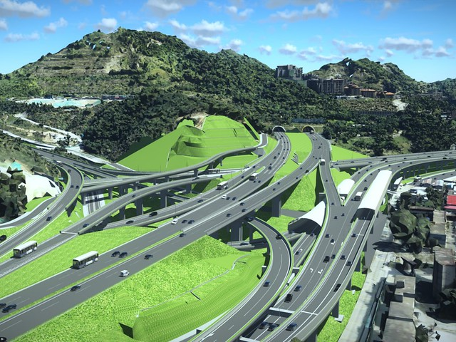 1347_Innovative and Comprehensive Use of Digital Twins for Grade-Separated Junction Project in East Yan'gang Region
