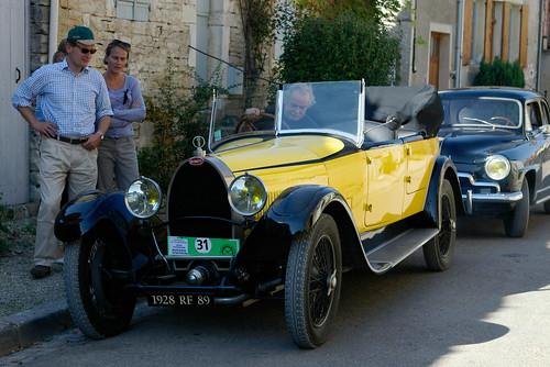 Bugatti à Noyers.