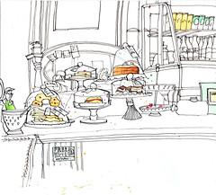 Cakes at the Art Gallery  (由  larosecarmine