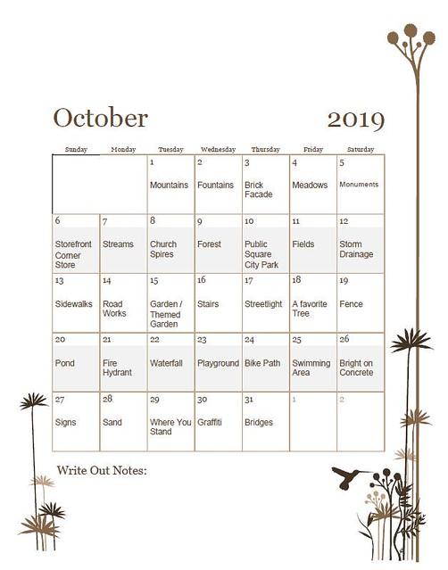 clmooc writeout doodle calendar oct