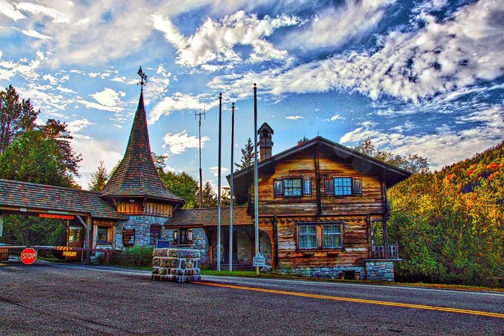 White Face Mountain  - Adirondack Mountains - New York State - Entrance