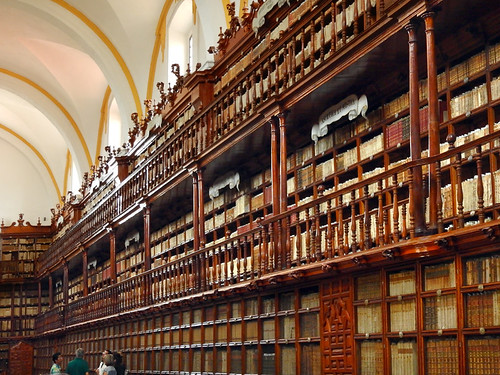 The library in Puebla, Mexico