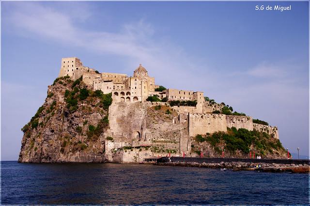 Castillo de los Aragoneses (Ischia-Italia)