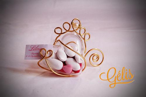 Coeur (30g) fil alu couronne et perle 4,20€