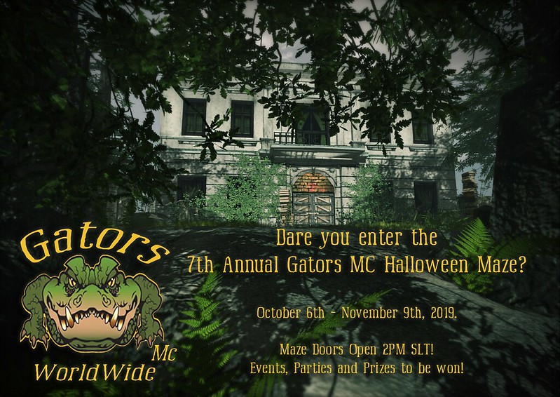 Gators MC 7th Annual Halloween Maze