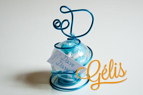 Bulle (30g) fil alu initiale 3,70€