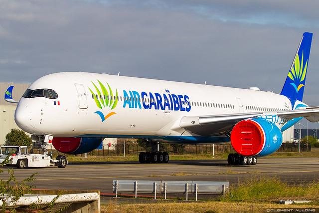 Air Caraïbes Airbus A350-1041 cn 065 F-WXLV // F-HMIL
