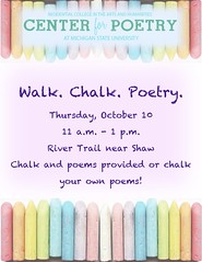 poetry chalking 2019 flyer