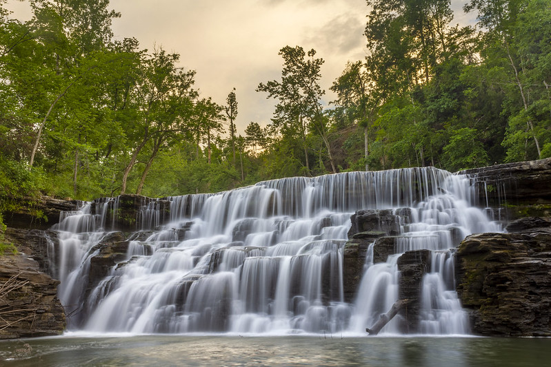 Waterloo Falls, Spring Creek, Overton County, Tennessee 19