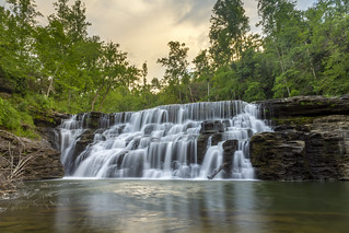 Waterloo Falls, Spring Creek, Overton County, Tennessee 20
